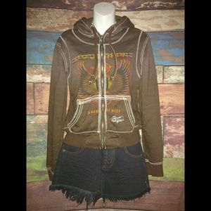 🔥🎶 True Religion Journey Greatest Hits Hoodie M